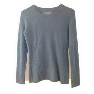 Blue Cashmere Womens Long Sleeve Cozy Sweater